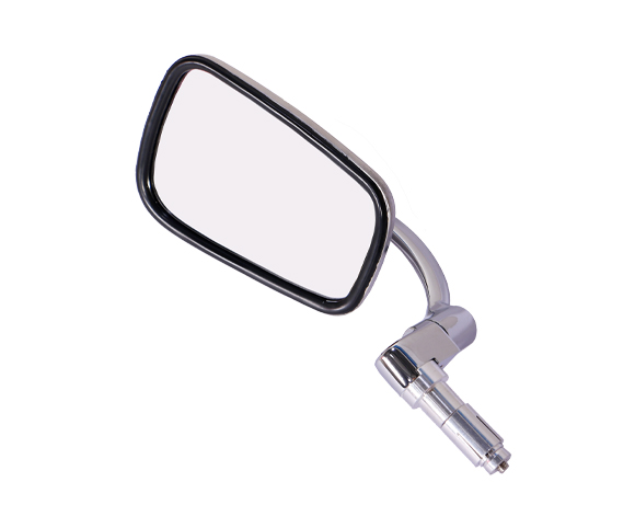 Classic Rectangular Motorcycle Bar End Mirror SMRM02