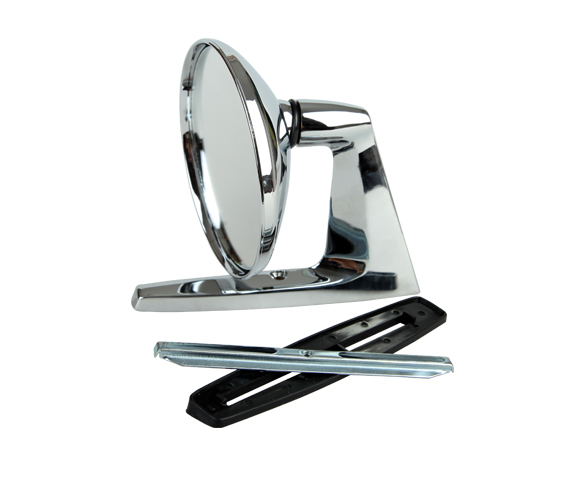 chrome fender door mirror for Ford SCRM02