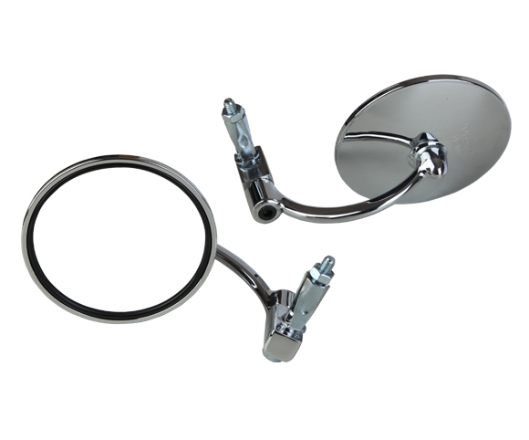 classic round handlebar end mirrors for Royal Enfield G39 SMRM05