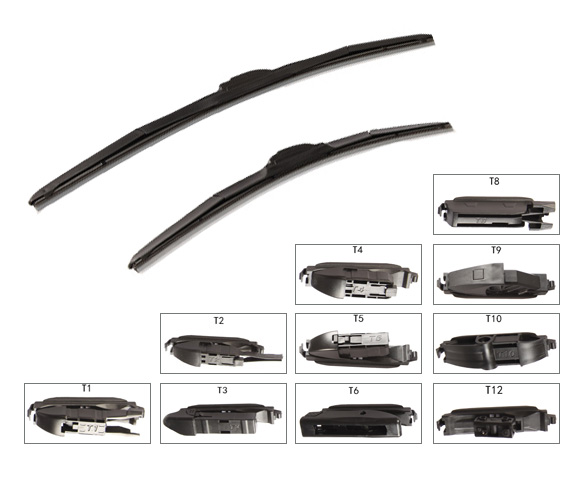 22inch 18inch multifunction Windshield Wiper Blades for Ford Volksagen car SCWW3