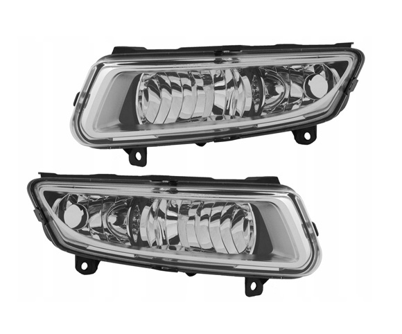 Fog lamp for Volkswagen Polo front view SCF9