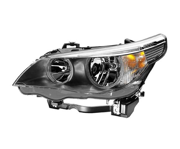 Headlight for BMW E60, E61, 63126919731:32 front view SCH8
