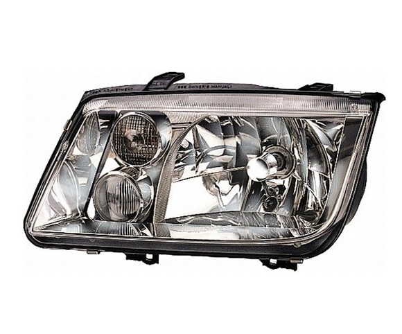 Headlight for Bora 98-04 front view SCH1