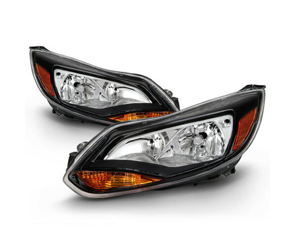 Headlight for Ford Focus MK3 front view SCH2