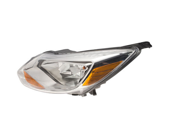 Headlight for Ford Focus MK3 side view SCH2
