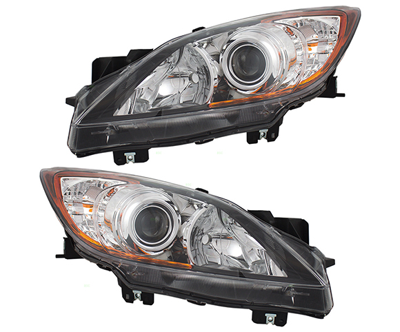 Headlight for Mazda MA2518130 SCH4