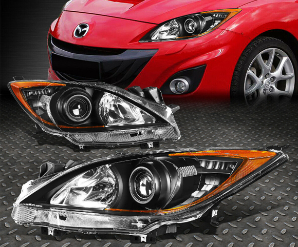 Headlight for Mazda MA2518130 front view SCH4