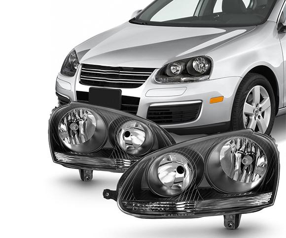 Headlight for Volkswagen Golf Jett SCH6