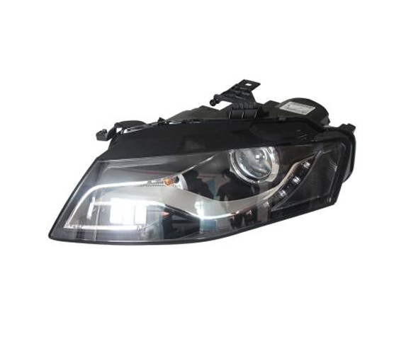 Headlights For Audi A4 B8 2009-2012 front view SCH7