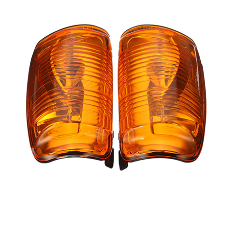 Indicator lamp for Ford MK8 red front view SCL82