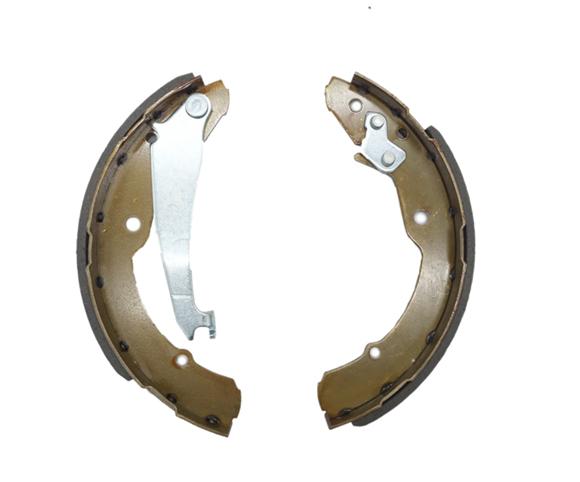 OE 1J0698525 brake shoe set for Skoda SCBS1