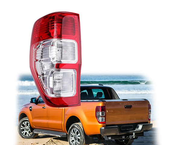 Tail light for Ford Ranger red front view SCTL1