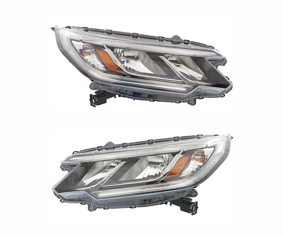 Headlight For Honda CRV, 33150TFCH01, 33100TFCH01, pair view SCH36