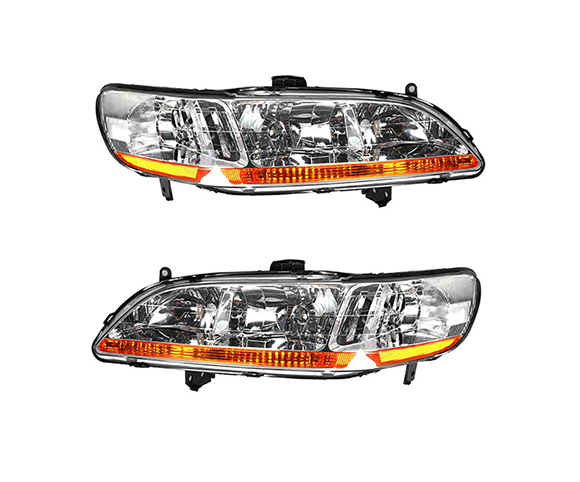 Headlight for Honda Accord 1998-2002, 33151S84A01 front view SCH10