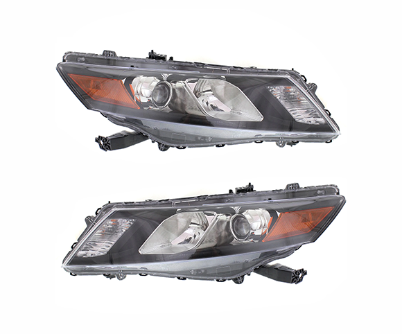 Headlight for Honda Accord Crosstour 2010, 33150TP6A01, 33100TP6A01, front view SCH30