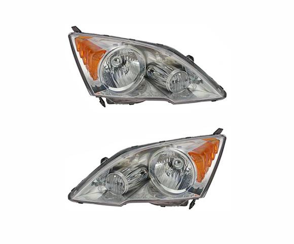 Headlight for Honda CR-V 2007, 33151SW1VH01, 33101SW1VH01, front view SCH29