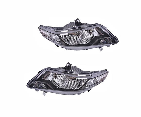 Headlight for Honda City GM2 GM3 2009-2011, 33100TM0H01 front view SCH26