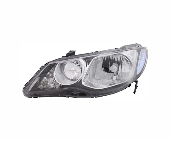Headlight for Honda Civic SDN 2005~2011, 33151SNBG02, 33101SNBG02, front view SCH27