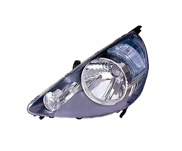 Headlight for Honda Jazz 2002~2004, 33151SAAG52, 33151SAAP52, front view SCH28