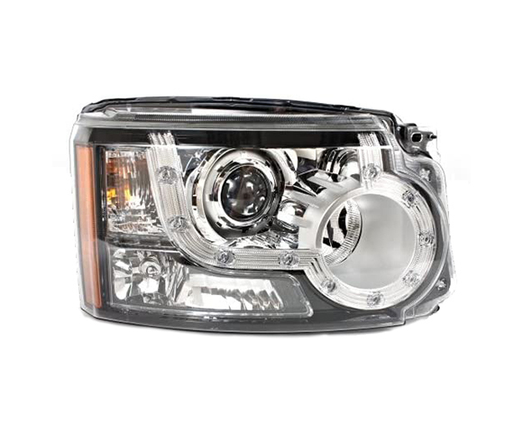 Headlight for Land Rover Discovery 4, LR023528, LR023529, front view SCH18