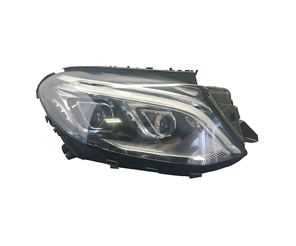 Headlight for Mercedes-Benz GLE, 1668201259 front view SCH22