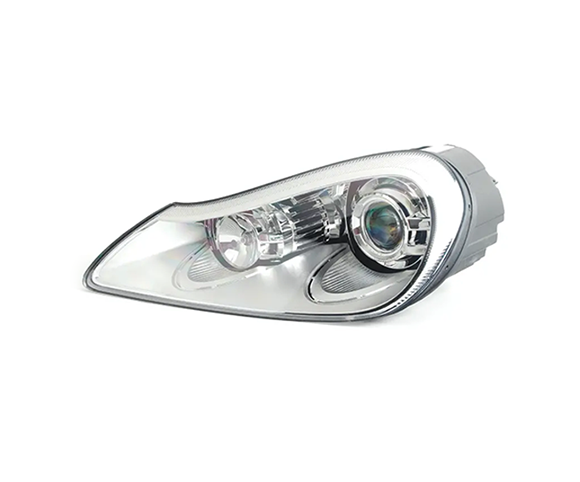 Headlight for Porsche Cayenne 2008, 95563117302, 95563117303 front view SCH21