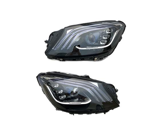 LED Headlight for Mercedes Benz S-Class W222, 2017, OE A2229061905, A2229062005, pair SCH50