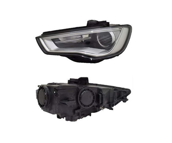 Headlight for Audi A3, 2012 pair view SCH129