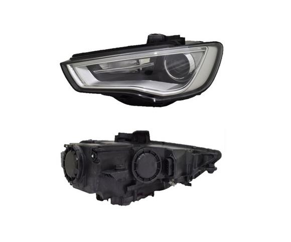 Headlight for Audi A3, 2012 pair view SCH129