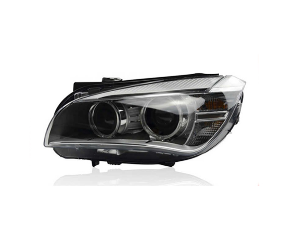 Headlight for BMW X1 E84, 2009-2015 front view SCH76