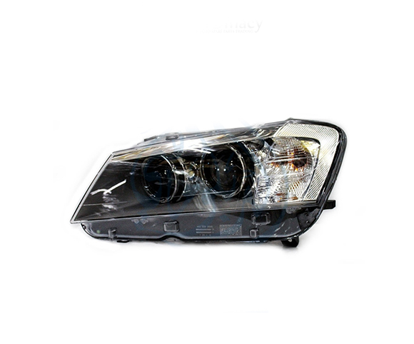 Headlight for BMW X3 (F25), 2010 front view SCH75