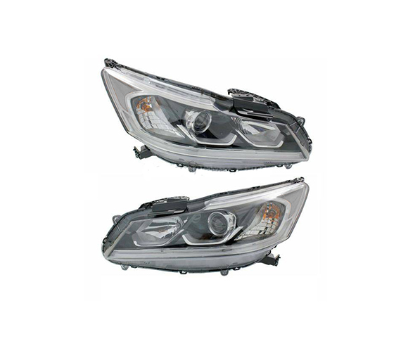 Headlight for Honda Accord, 2016-2017, front view SCH84