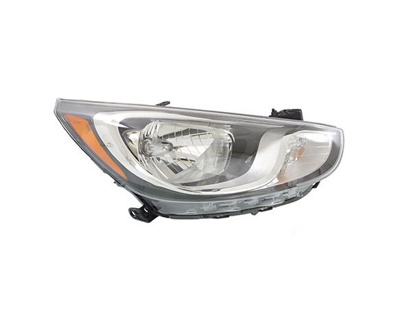 Headlight for Hyundai, Accent, 2012-2013 right view SCH125