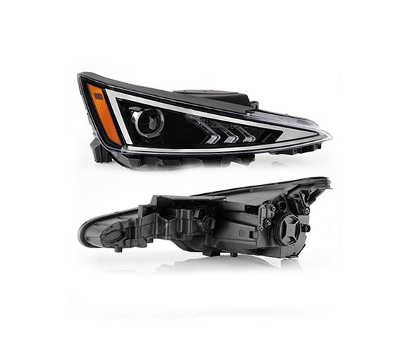 Headlight for Hyundai Elantra, J8, 2019-2020 pair view SCH122