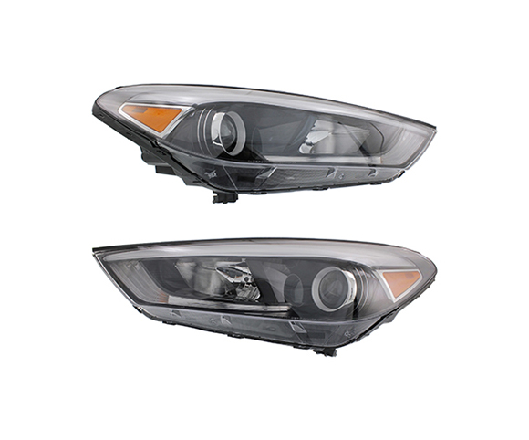 Headlight for Hyundai, Tucson,III 2016-2018 pair view SCH124