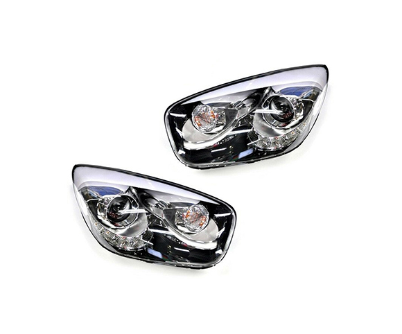 Headlight for Kia Picanto III-15, 2014-2015 pair view SCH119