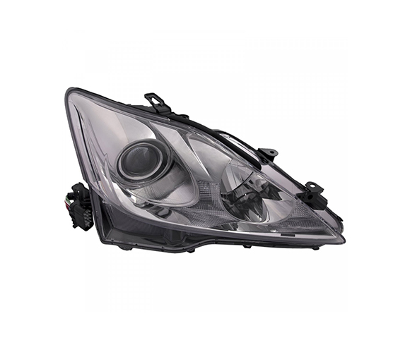 Headlight for Lexus IS250, IS350, 2006-2008 front view SCH111