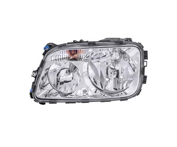 Headlight for Mercedes Benz Actros truck 1996-2002 left view SCH80