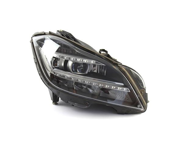 Headlight for Mercedes Benz CLS 218, 2015 front view SCH81