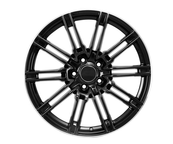 Car wheel hub for Porsche front view SCWH2214